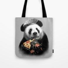 PANDA LOVES PIZZA Tote Bag