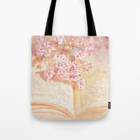 once upon a  time Tote Bags featuring ONCE UPON A TIME ... by INA FineArt