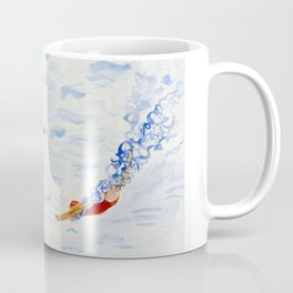 Swimmer - diving Coffee Mug