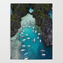 Island hopping in the Philippines Poster