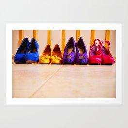 Shoes Art Print