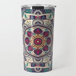 Colorful Mandala Pattern 007 Travel Mug