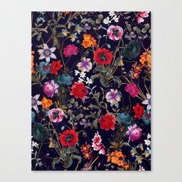 Midnight Garden XIX Canvas Print