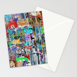 COLLAGE MASH-UP II Stationery Cards