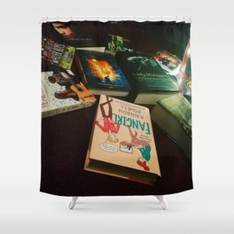 Favorite Books of 2016 Shower Curtain