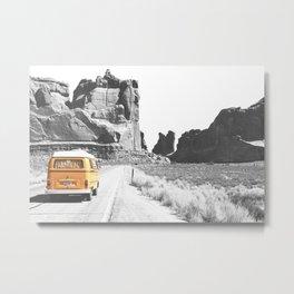 Road Trip Combi Metal Print