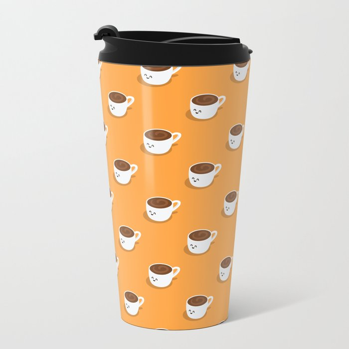Coffee? Metal Travel Mug