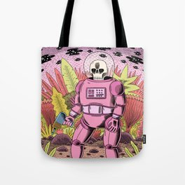 The Dead Spaceman Tote Bag