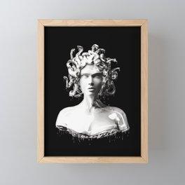 Silver Medusa Framed Mini Art Print