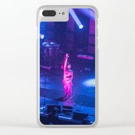 Gary Numan Live AT 02 Brixton Clear iPhone Case