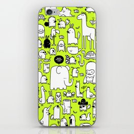 All the Beasts, Imagined and Real iPhone Skin