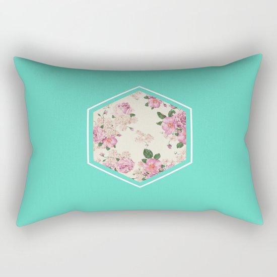 Floribus Sextae Rectangular Pillow