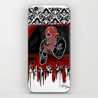 lebron iPhone & iPod Skins featuring 100 Meter Dash! by SaintCastro