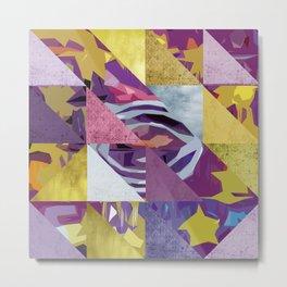 u2's zooropa triangles Metal Print