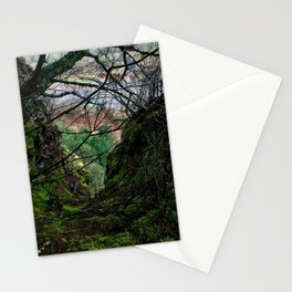 Columbia River Gorge View From Oneonta Trail Stationery Cards