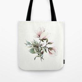 Magnolia and Olives Tote Bag