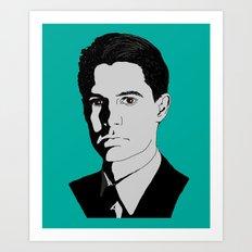 Agent Cooper Art Print