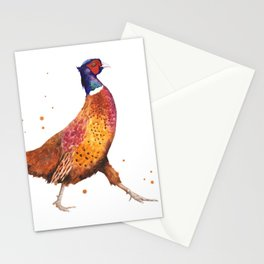 Pheasant Strut Stationery Cards