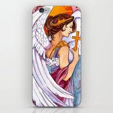 Giovanna - Art Nouveau Angel iPhone & iPod Skin