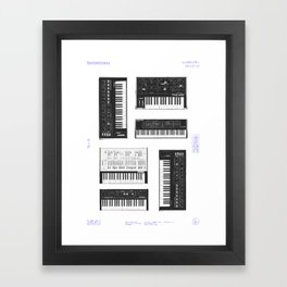 Collection : Synthetizers Framed Art Print