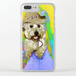 West Highland White Terrier - Ready To Go? Clear iPhone Case