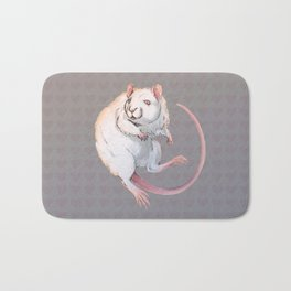 Albino Rat Bath Mat