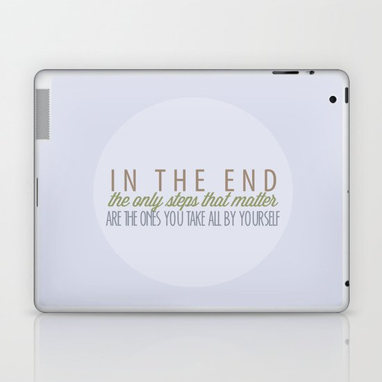 Can't Go Back Now Laptop & iPad Skin