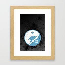 Halo - Blue Team Framed Art Print