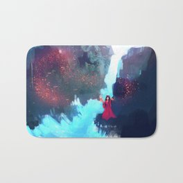 Supernatural - Witch - Waterfall Bath Mat