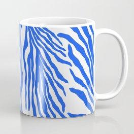 Electric Blue Coral Coffee Mug