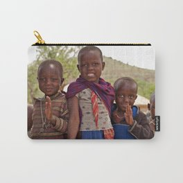 Maasai Children Carry-All Pouch