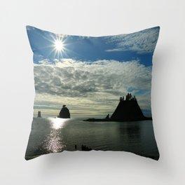 La Push Sunset Throw Pillow