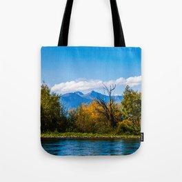 Autumn in Kamchatka Tote Bag