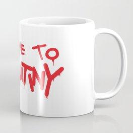 Welcome to Mutiny - Halt & Catch Fire Coffee Mug