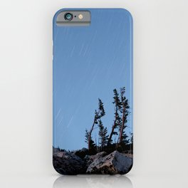 Medicine Bow Startrails iPhone Case