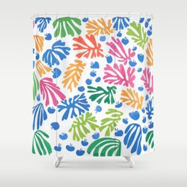 Leaf Cutouts by Henri Matisse Shower Curtain