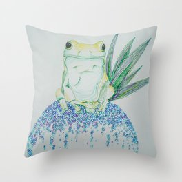 Bringer of fortune Throw Pillow