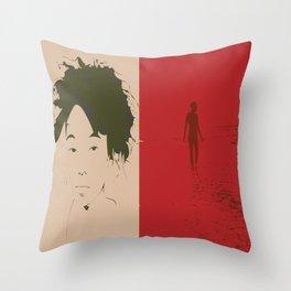 SPlits Throw Pillow