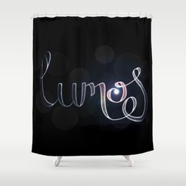 Harry Potter Incantation Collection : Lumos Shower Curtain