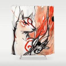 Okami Shower Curtain
