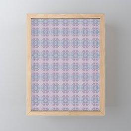 finch roses Framed Mini Art Print