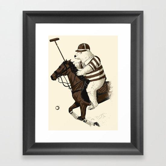 Polobear Framed Art Print