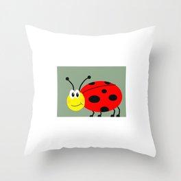 Bed Bug Throw Pillow