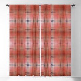Tie-dye pattern red Blackout Curtain