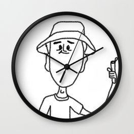 Mark Mentos Wall Clock