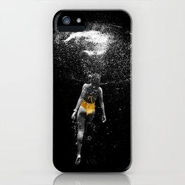Black Water iPhone Case