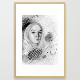 Crush Framed Art Print