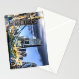 Tower Bridge And The City Stationery Cards