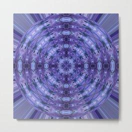 283 - Abstract Purple Orb Metal Print
