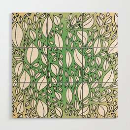 Leaves Wood Wall Art